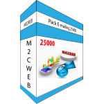 Pack E-mailing 25000