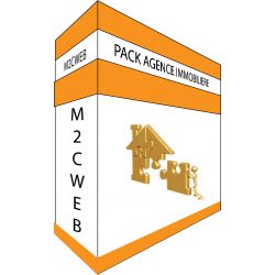 Pack AGENCE IMMOBILIERE