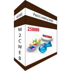 Pack E-mailing 250000